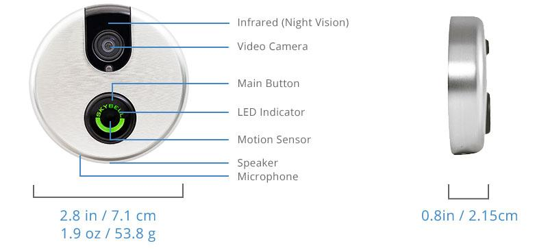 features of skybell doorbell